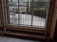 Tor im Auslauf zur Terrasse